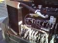CAMS CZ 54. detail hlavního hydraulického rozvaděče