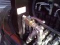 CAMS CZ 54, detail ventilu ovládání hydraulického vývodu